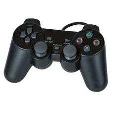 Joystick Joypad Con Filo Wired Compatibile Ps2 Per Playstation 2 Controller Nero