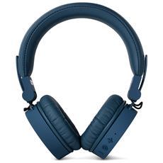 Cuffie Sovraurali Caps Wireless Headphones Bluetooth - Blu