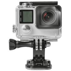 Proteggischermo idrorepellente, adattabile per adeguarsi a qualsiasi action cam (2-pack)