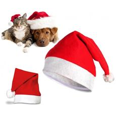 790733 Cappello Da Babbo Natale Per Animali Di Taglia Piccola E Media - S / m