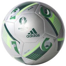 Pallone Da Calcio Ufficiale Europei 2016 Francia Palloni Adisas Misura 5 *02501 Argento