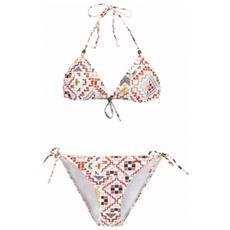 Bikini Donna Exotic Triangle S Bianco Fantasia