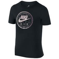 T-shirt Sportswear Air World Jr Nero L