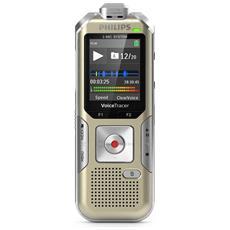 Registratore digitale Stereo adatto per reigstrare riunioni, interviste, 3 Microfoni, Sensore di movimento, Funzione ZOOM