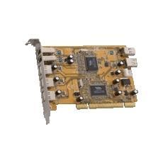 DC-DuoMedia FireWire & USB 2.0 PCI Card scheda di interfaccia e adattatore