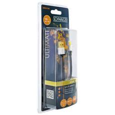LKHQ015M533, USB A, Micro-USB A, Maschio / maschio, Dritto, Dritto, Nero