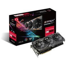 ASUS - Radeon RX 580 8 GB GDDR5 PCI Express / DVI-D / 2x...