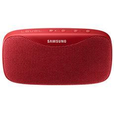 Level Box Slim Speaker con Bluetooth Colore Rosso