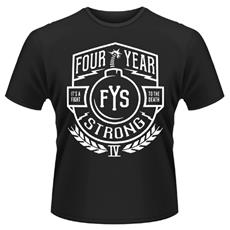 Four Year Strong - Truce (T-Shirt Unisex Tg. S)