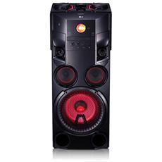 Sistema Mini Hi-Fi OM7560 Sistema 2.0 Potenza Totale 1000W Bluetooth
