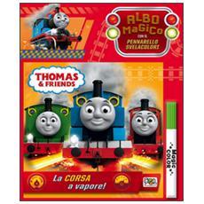 La corsa a vapore! Thomas & friends. Albo magico. Con gadget
