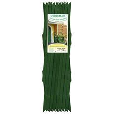 Traliccio Estensibile In Legno Mt 1,8 X 0,9 Verde - 7587