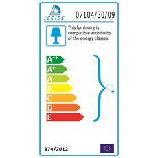 Basic Interno E27 Cromo illuminazione da soffitto