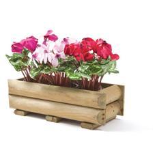 Fioriera porta cassetta per piante e fiori