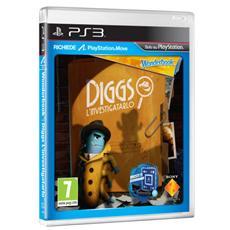 PS3 - Wonderbook - Diggs L'investigatarlo (Software per Playstation Move)