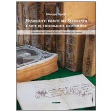 Manoscritti inediti del Settecento e note di storiografia leonfortese. L'adornamento del notaio La Marca e l'Historia di Fra' Giovanni