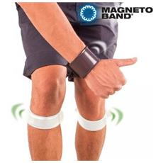 Banda magnetica per polsi e ginocchia antidolorifici sport set 3 pezzi impedisce lesioni