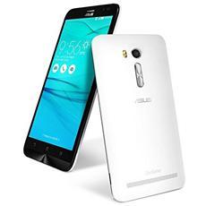 "ZenFone Go (ZB551KL) Bianco 32 GB 4G/LTE Dual Sim Display 5.5"" HD Slot Micro SD Fotocamera 13 Mpx Android Italia"
