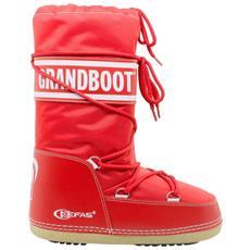 Dopo Sci Bambino Grandboot 23-25 Rosso