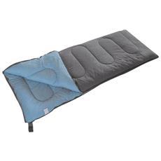 Sacco A Pelo Comfort Plus 220x90 Cm Grigio E Blu 3605751