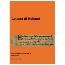 Lettura di Heliand. 11° Seminario avanzato in filologia germanica