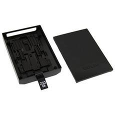 Case Guscio Vuoto Hard Disk Drive Di Ricambio Nero Per Xbox 360 Slim