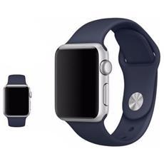 Cinturino Bracciale Blu Scuro Sostitutivo In Silicone Gomma Series 2/1 Sport Band Per Orologio Iwatch Watch 42mm