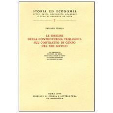 Origini della controversia teologica sul contratto di censo nel XIII secolo (Le)