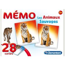 Memo Les Animaux Sauvages