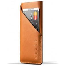 "Leather Wallet Sleeve 4.7"" Custodia a tasca Marrone chiaro"