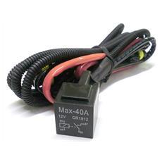 Cablaggio Rele Relay 12V 40A Stabilizzatore Corrente per Lampada Xenon H1 Tremolio Sfarfallio