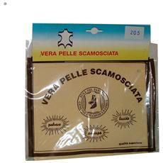 Set 12 Pelle Scamosciata Confez. art. 0258e Accessori Auto E Moto