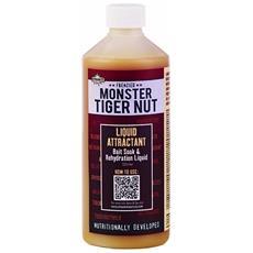 Attrattore Monster Tiger Nut Liquid Attractant Unica Marrone