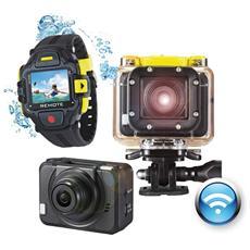 Action Cam GoXtreme WiFi Pro Filmati Full HD Display 1.29'' Wi-Fi Impermeabile
