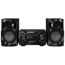 PANASONIC - Sistema Mini Hi-Fi SC-AKX200E Lettore CD Supporto MP3 Potenza  400Watt Bluetooth Sintonizzatore FM Porta USB 796728bce2b7