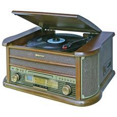 Sistema HiFi Radio CD Cassette Giradischi USB HIF1990BT