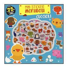 Cuccioli. Mini sticker morbidosi
