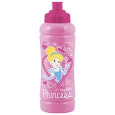 Borraccia Polietilene Little Princess Lt0,42 Tempo Libero