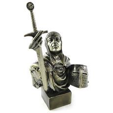 statuetta 'chevalier du xiiième siècle' - [ h4856]