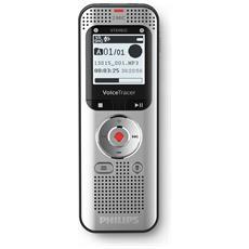 Registratore digitale Stereo adatto per registrare le conversazioni, interviste, FM Radio (Registrazione e Riproduzione) USB 2.0, 8GB, MicroSD