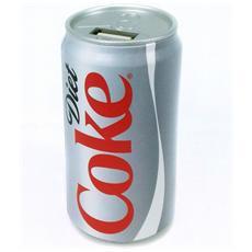 Coca-Cola 2000 mAh, USB, Grigio, Universale