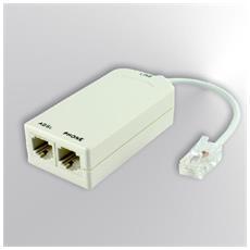 PTT-ADSL004Z RJ-45 2x RJ-45 Bianco cavo di interfaccia e adattatore