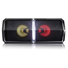 Diffusore Multimediale Bluetooth con ingresso USB da 600W