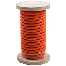 Filo elettrico in bobina PHILO ricoperto in cotone Lunghezza 5 mt Colore Arancione