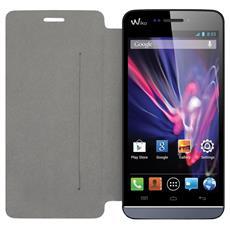 Pellicola Protettiva in Ecopelle per Smartphone Nera SCP41193