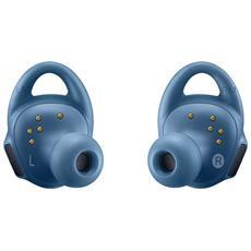 Auricolare Bluetooth Gear IconX Stereofonico Colore Blu