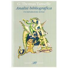Analisi bibliografica. Un'introduzione storica
