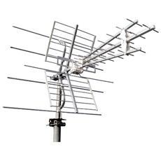 Antenna multibanda combinata UHF VHF con filtro LTE per digitale terrestre