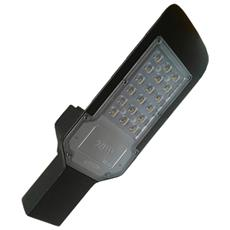 Armature Stradali Led Smd Street Light Nero 20w Ip65 Staffa Muro Luce Fredda 6500k F-20w-nf8