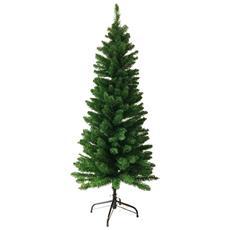 Albero Di Natale 180cm Abete Slim Deluxe Penicel Folto Ecologico Pvc 326 Rametti